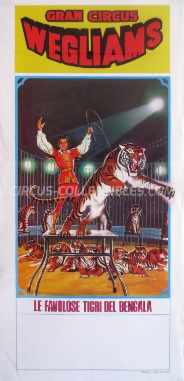 Wegliams Circus Poster - Italy, 0