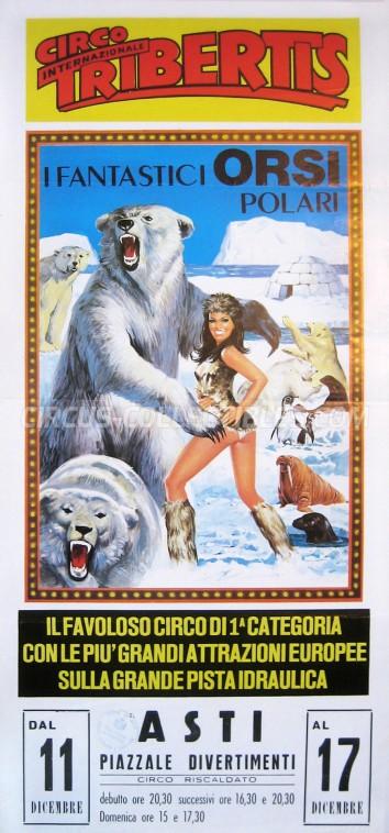 Tribertis Circus Poster - Italy, 0