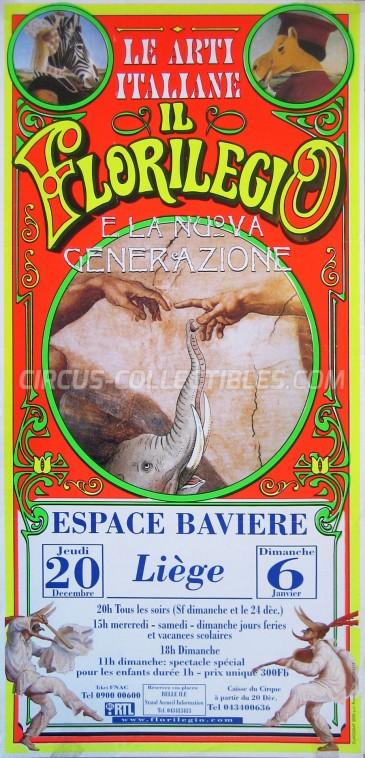 Darix Togni Circus Poster - Italy, 2001
