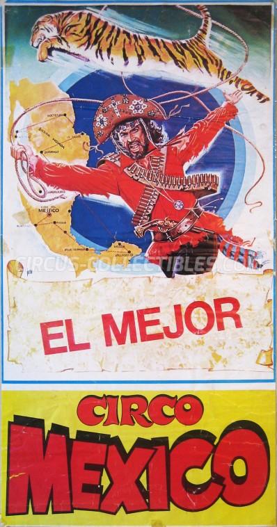 Mexico Circus Poster - Italy, 1986