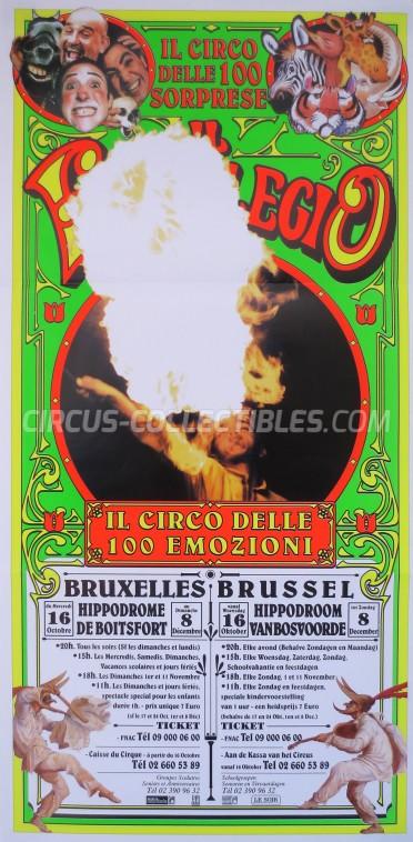 Darix Togni Circus Poster - Italy, 2002