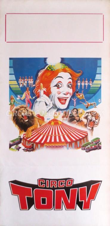 Tony Circus Poster - Italy, 0