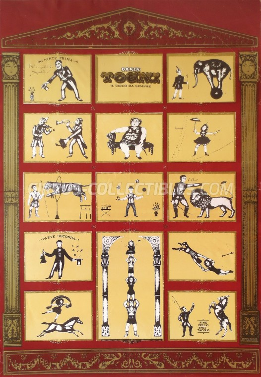 Darix Togni Circus Poster - Italy, 1986