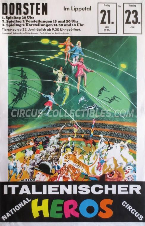 Heros Circus Poster - Italy, 1963