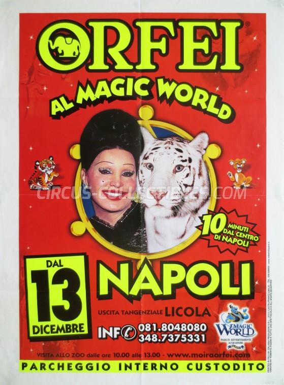Moira Orfei Circus Poster - Italy, 2002