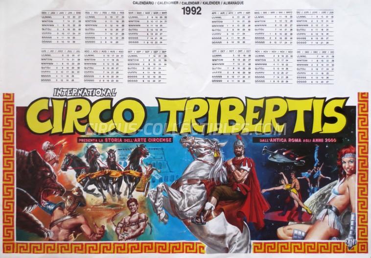 Tribertis Circus Poster - Italy, 1992