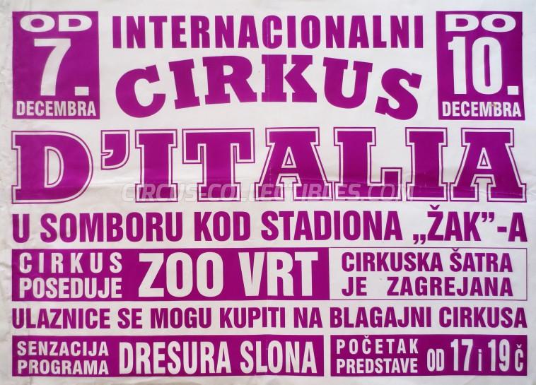 Corona Circus Poster - Serbia, 0