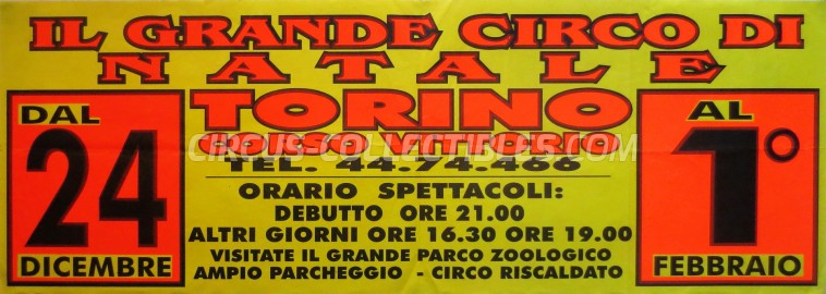 Lidia Togni Circus Poster - Italy, 0