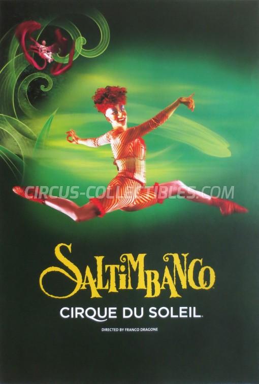 Cirque du Soleil Circus Poster - Canada, 1992