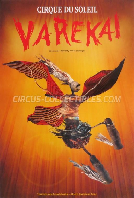 Cirque du Soleil Circus Poster - Canada, 2002