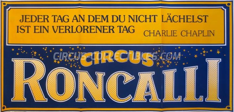 Roncalli Circus Poster - Germany, 0