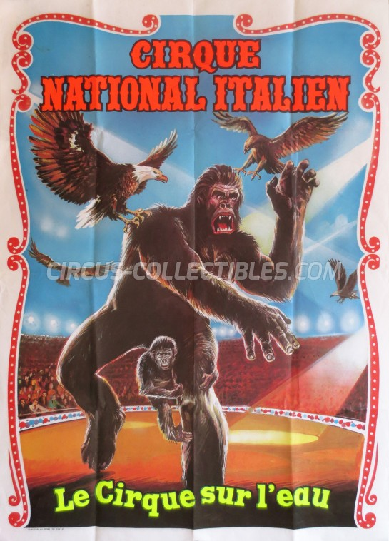 Medrano (Casartelli) Circus Poster - Italy, 1988