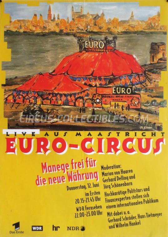 Euro-Circus Circus Poster - Netherlands, 1997