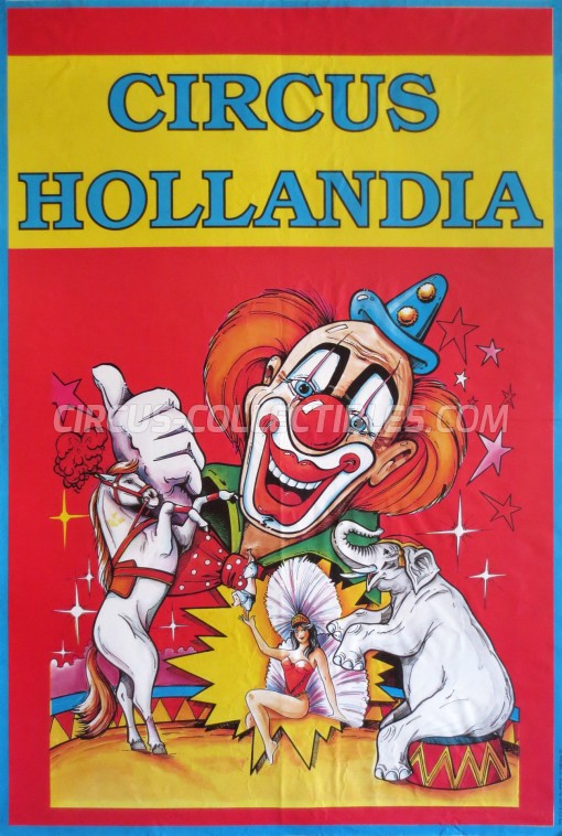 Hollandia Circus Poster - Netherlands, 1994