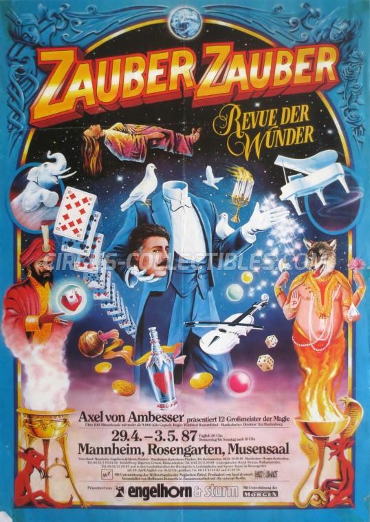 Zauber Zauber Circus Poster - Germany, 1987