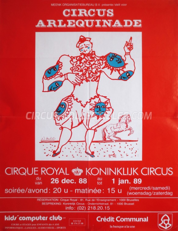 Royal (BE) Circus Poster - Belgium, 1988