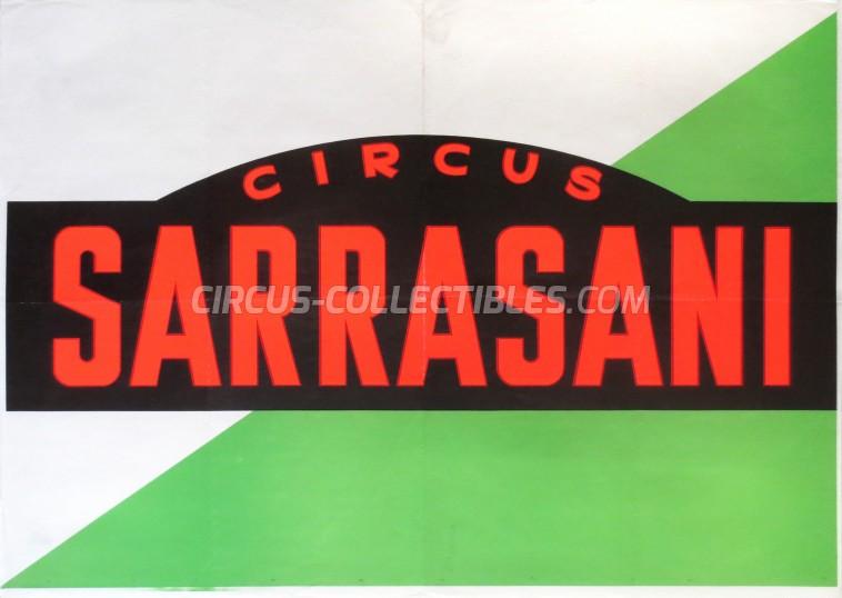 Sarrasani Circus Poster - Germany, 0
