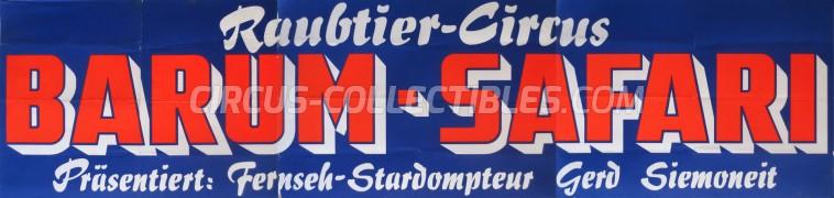 Barum Circus Poster - Germany, 0