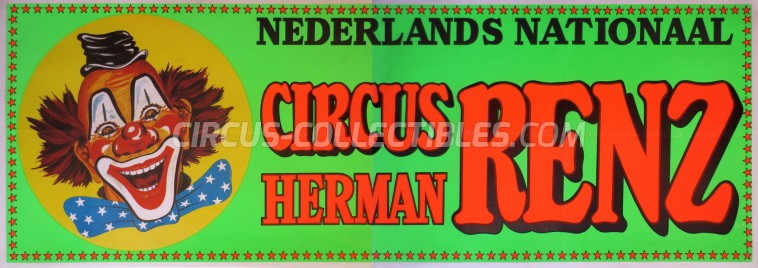 Herman Renz Circus Poster - Netherlands, 0