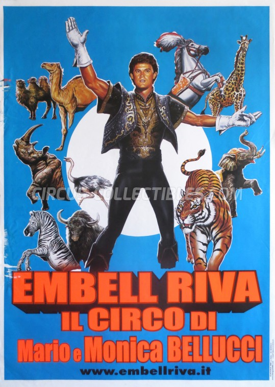 Embell Riva Circus Poster - Italy, 2002