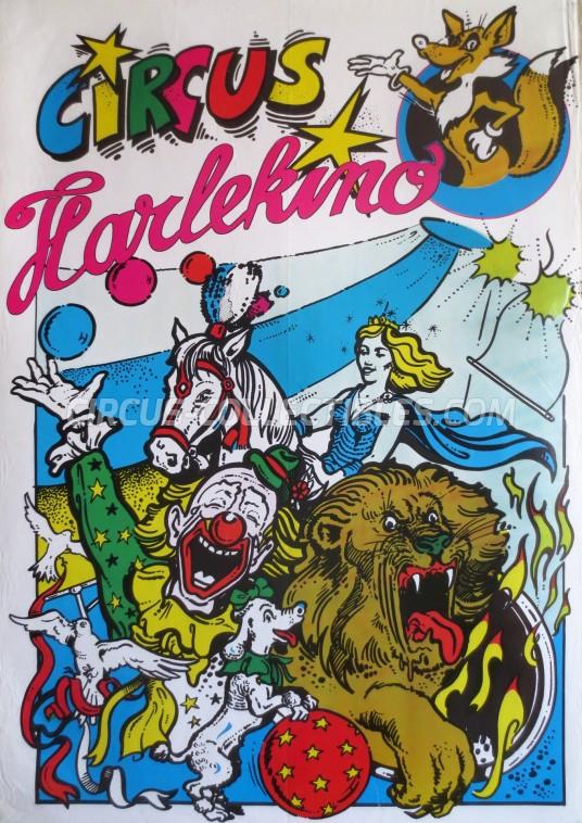 Harlekino Circus Poster - Netherlands, 0
