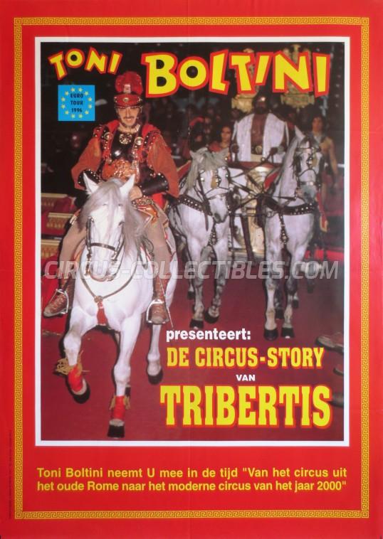 Tribertis Circus Poster - Italy, 1996