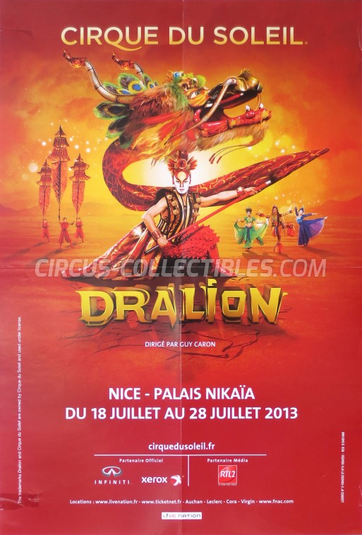 Cirque du Soleil Circus Poster - Canada, 2013