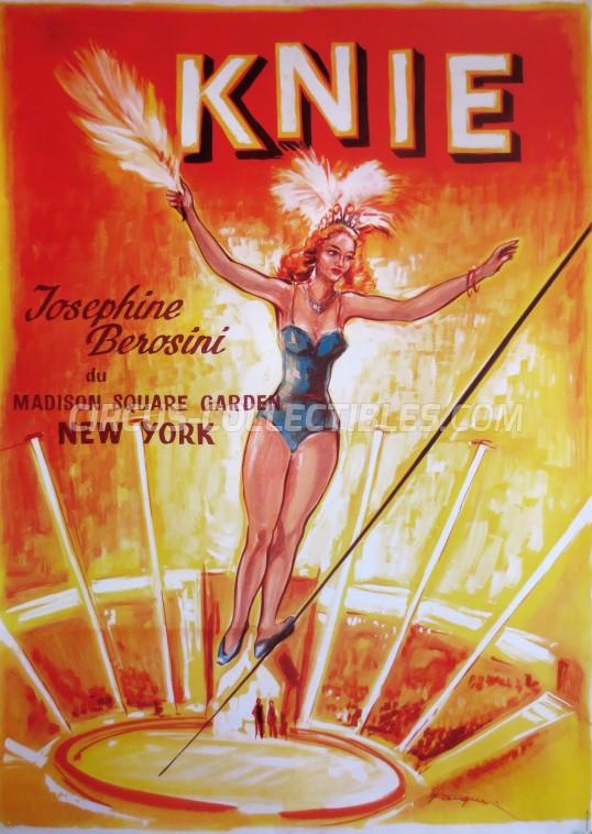 Knie Circus Poster - Switzerland, 2005