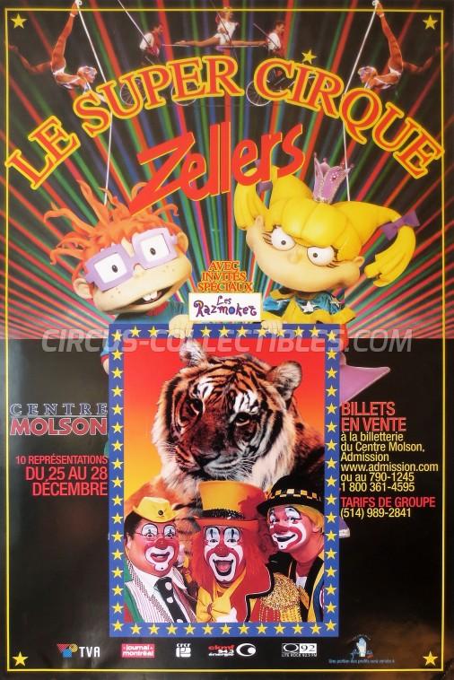Le Super Cirque Circus Poster - Canada, 2002