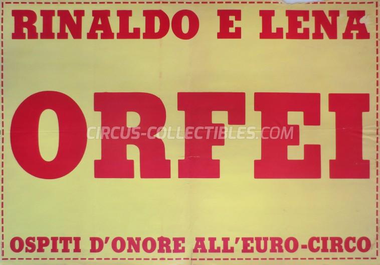 Euro Circus Poster - Italy, 0
