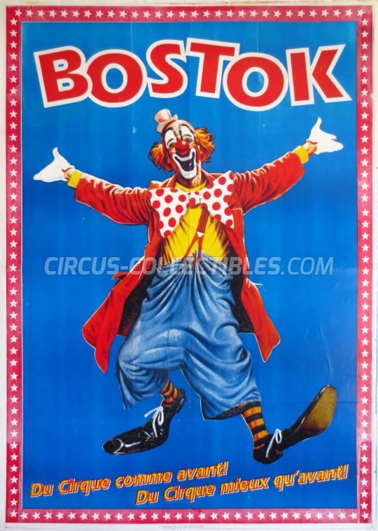 Bostok Circus Poster - France, 0