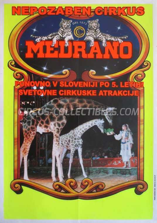 Medrano (Casartelli) Circus Poster - Italy, 2010
