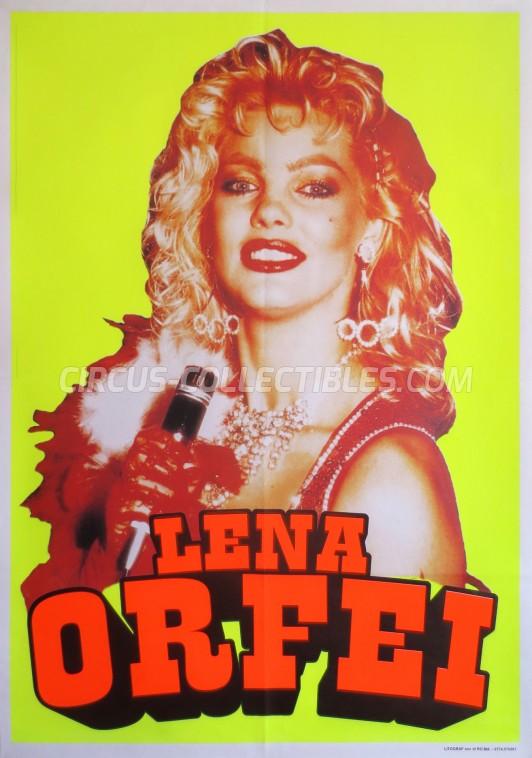 Lena Orfei Circus Poster - Italy, 0