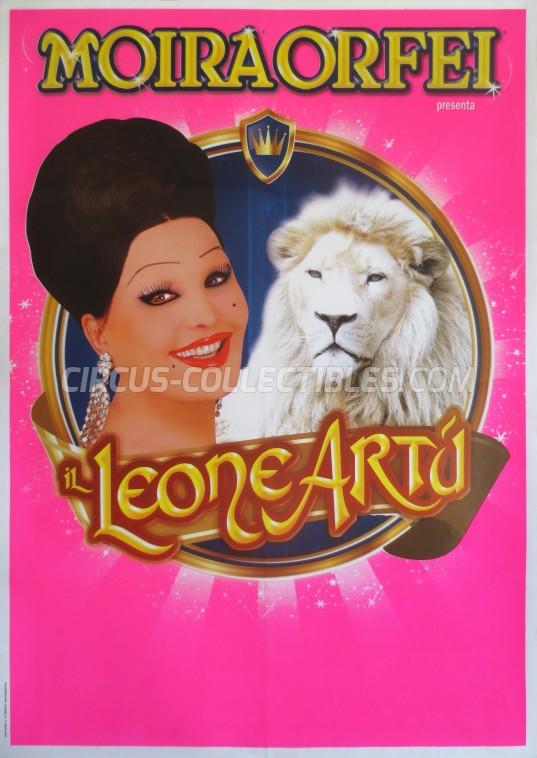 Moira Orfei Circus Poster - Italy, 2012