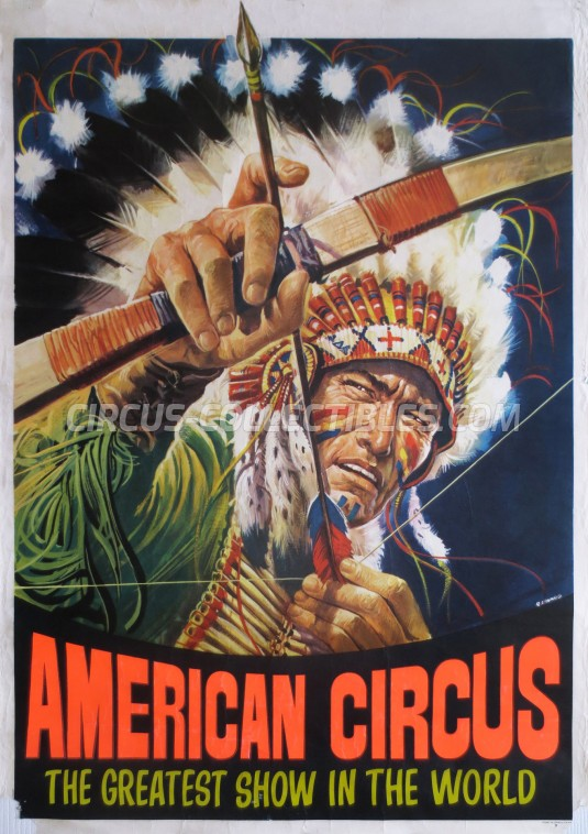 American Circus Circus Poster - Italy, 1978