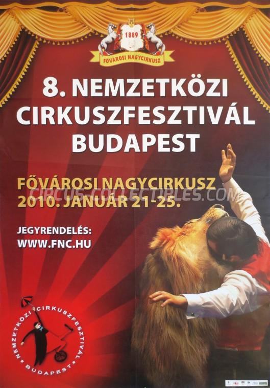 Fovarosi Nagycirkusz Circus Poster - Hungary, 2010