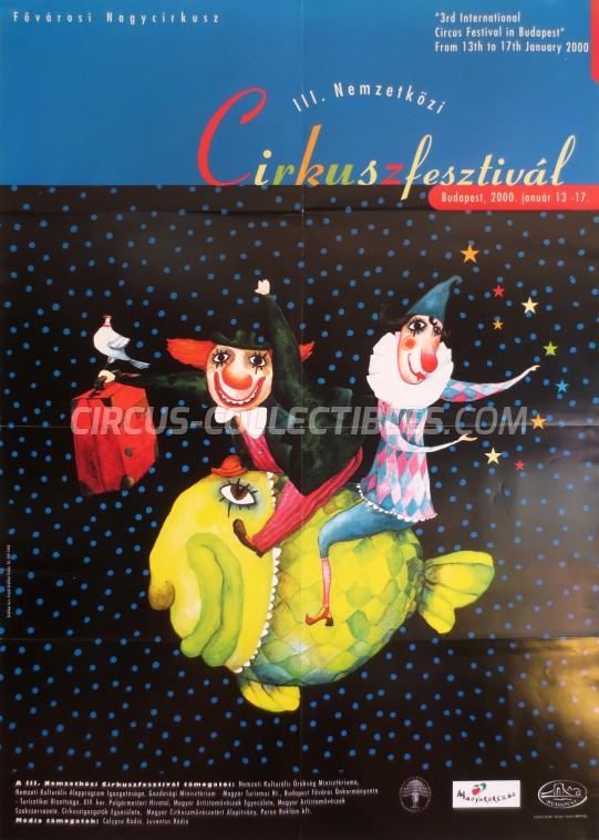 Fovarosi Nagycirkusz Circus Poster - Hungary, 2000