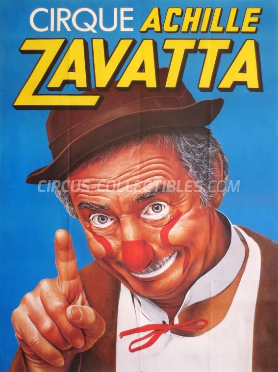 Achille Zavatta Circus Poster - France, 0