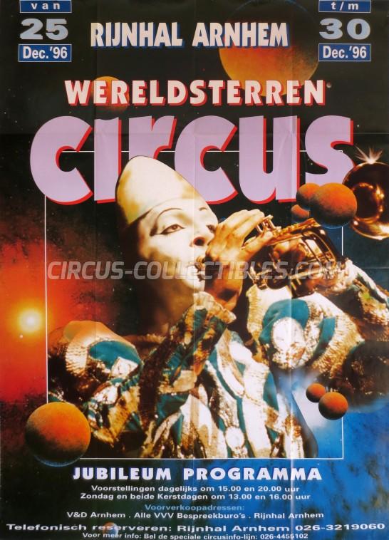 Wereldsterren Circus Circus Poster - Netherlands, 1996