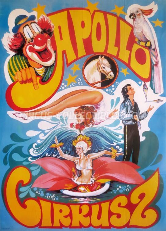 Apollo (HU) Circus Poster - Hungary, 0