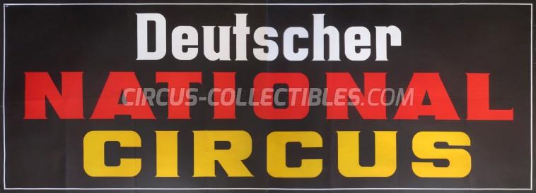 Deutscher Circus Circus Poster - Germany, 0