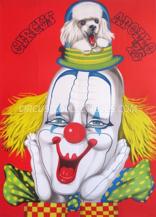 Apollo (HU) Circus Poster - Hungary, 1975