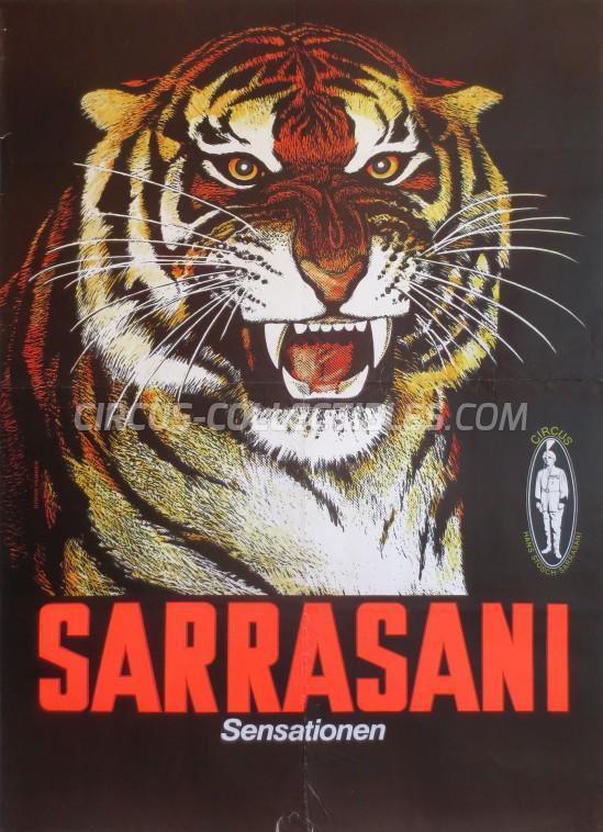 Sarrasani Circus Poster - Germany, 1977