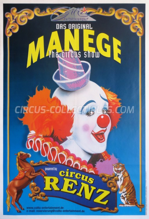Renz Circus Poster - Germany, 2006
