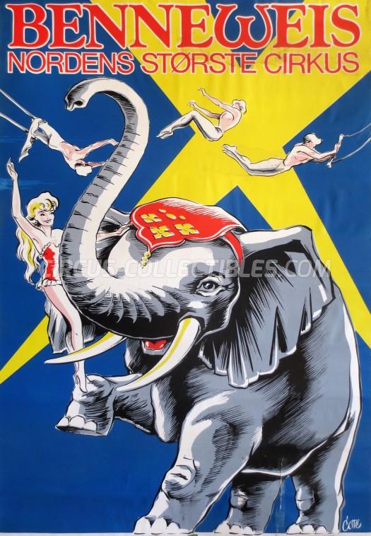 Benneweis Circus Poster - Denmark, 0