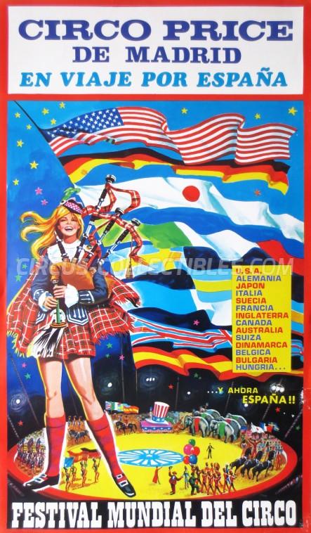 Price Circus Poster - Spain, 0