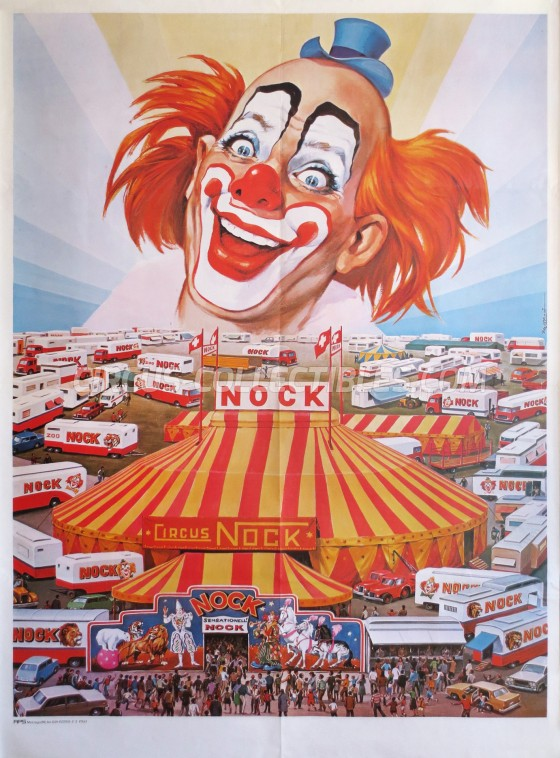 Nock Circus Poster - Switzerland, 1980