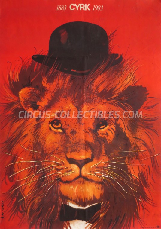 Cyrk 1883-1983 Circus Poster - Poland, 1983
