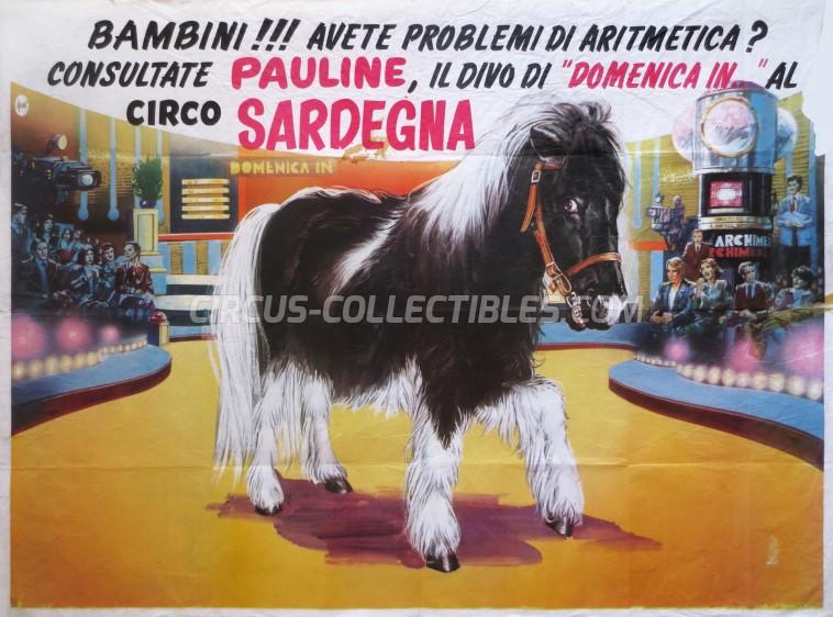 Sardegna Circus Poster - Italy, 0