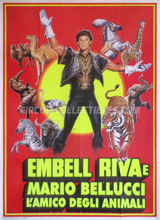 Embell Riva Circus Poster - Italy, 1998